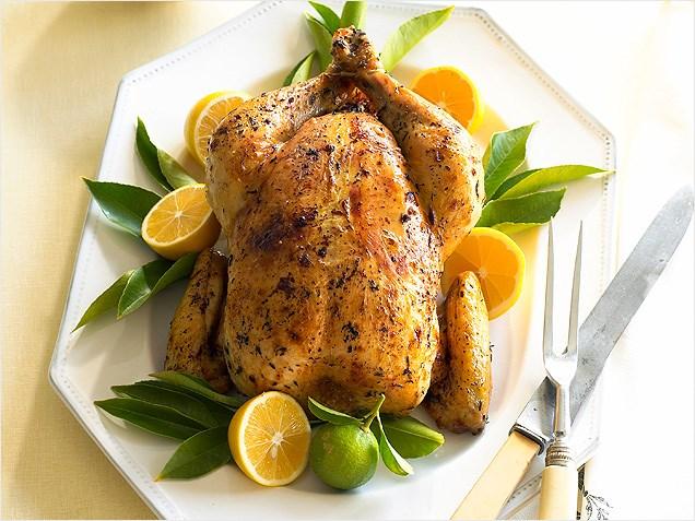 upptinad kyckling i kylskåp