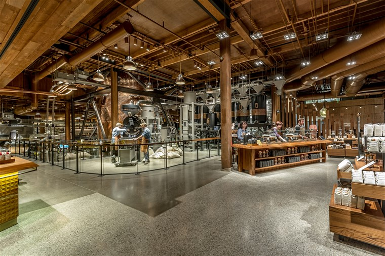 Starbucks Reserve Roastery in Seattle, Washington