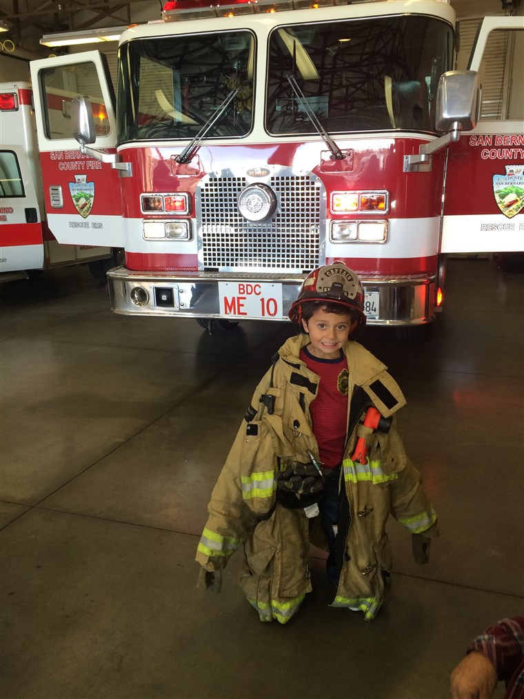 Natanielis Stocks saved his grandmother's life during a house fire