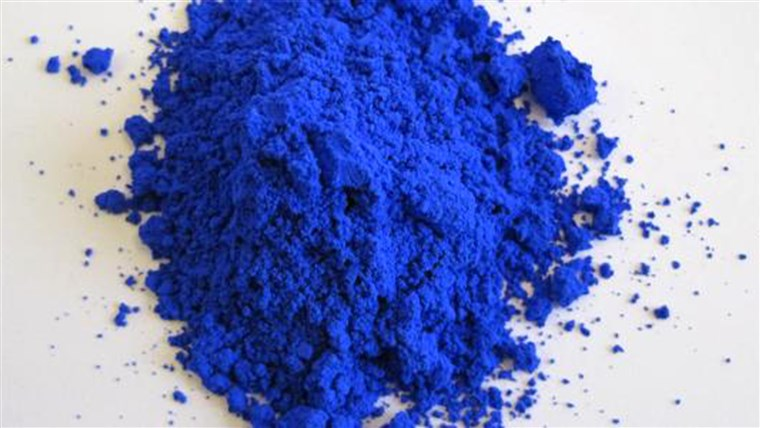 YInMn blue, the new blue pigment.