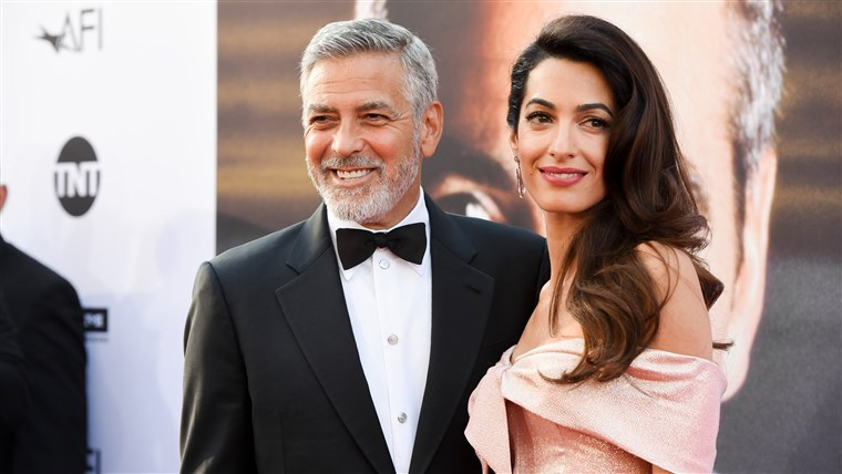 Georgeas Clooney and Amal Clooney: 2018 AFI Life Achievement Award Gala
