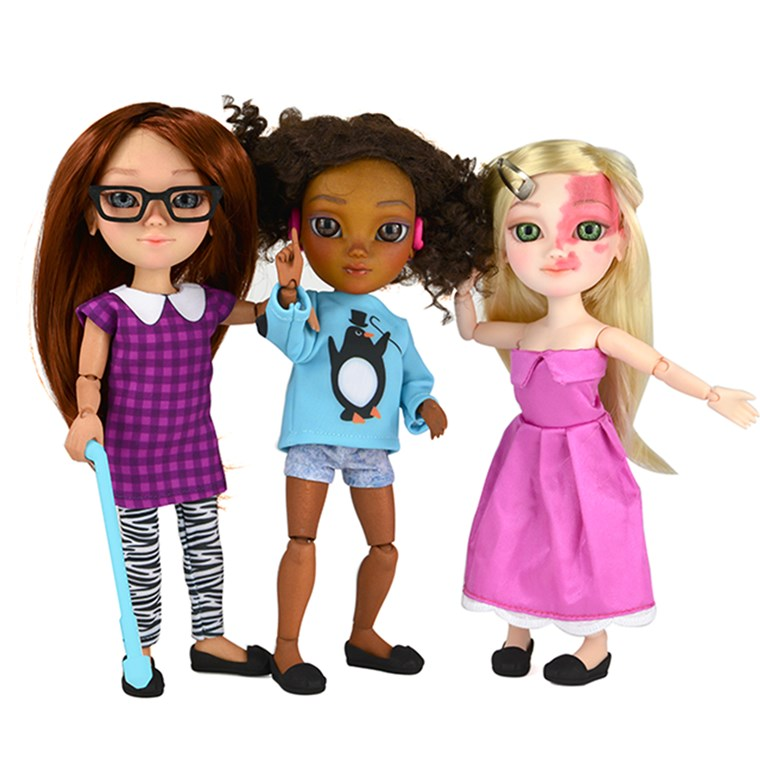 Jucărie Like Me Campaign Inspires New Line of Dolls with Disabilities