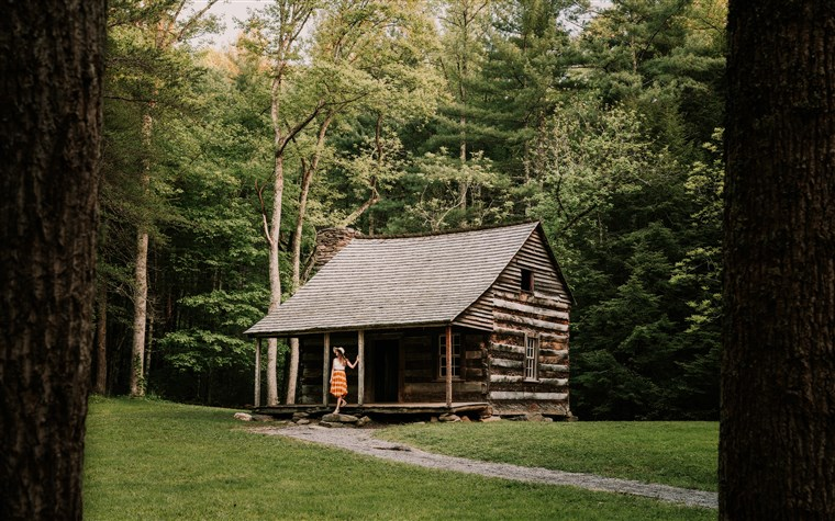 Carteris Shields Cabin in Great Smokey Mountains