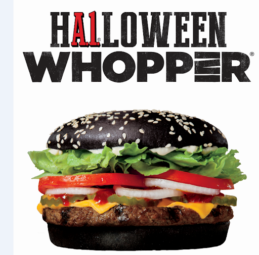 Burger King's new Halloween Burger