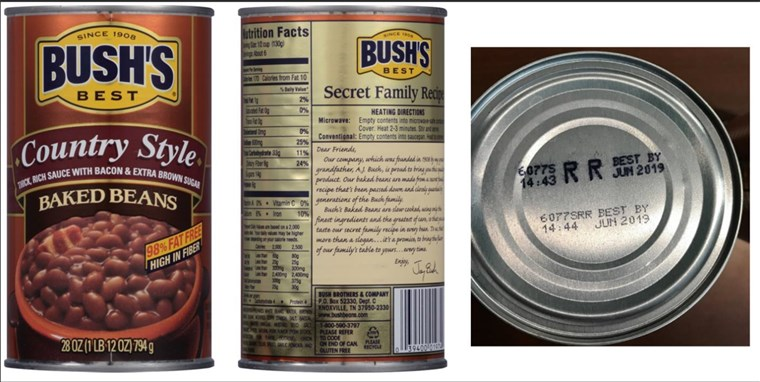 tufiș's Baked Beans issues voluntary recall