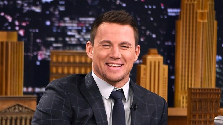 Channing Tatum: Joe Manganiello är naken så mycket som
