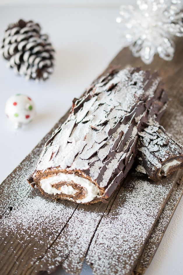 Choklad yule log by TODAY Food Club member Janette Fuschi