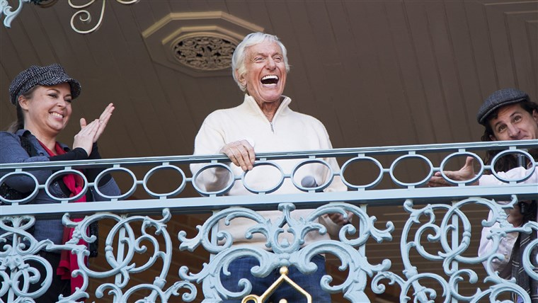 Imagine: Dick Van Dyke Celebrates His 90th Birthday At Disneyland