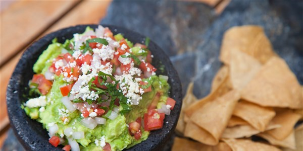 Perfect Guacamole with Pico de Gallo