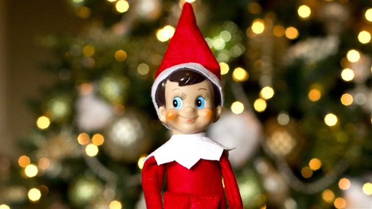 Тхе elf on the shelf sees all
