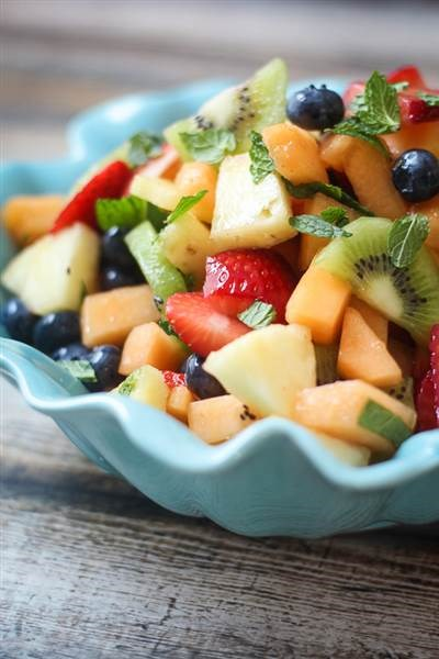 Боози fruit salad from The Wanderlust Kitchen