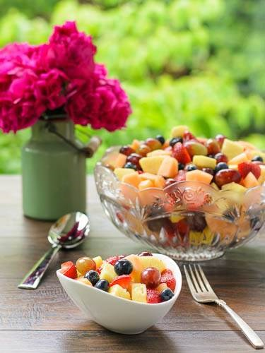 Спарклинг fruit salad from Magnolia Days