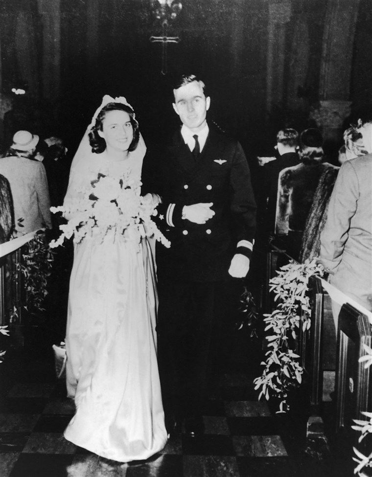 Imagine: Wedding of George and Barbara Bush