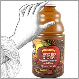 Традер Joe's Spiced Cider