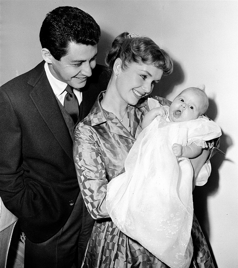 Debbie Reynolds, Eddie Fisher, Carrie
