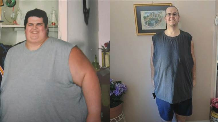 luptând pentru a pierde din greutatea corporală mai mică)