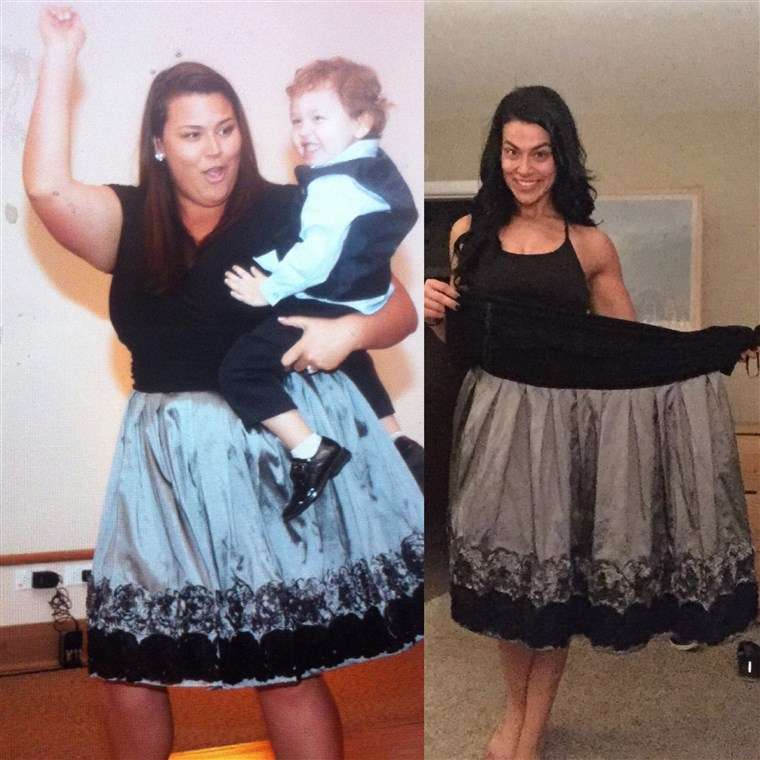 Када Erica Lugo started her weight loss, she weighed 322 pounds. After two years, she lost 160 pounds and now she focuses on building muscle.