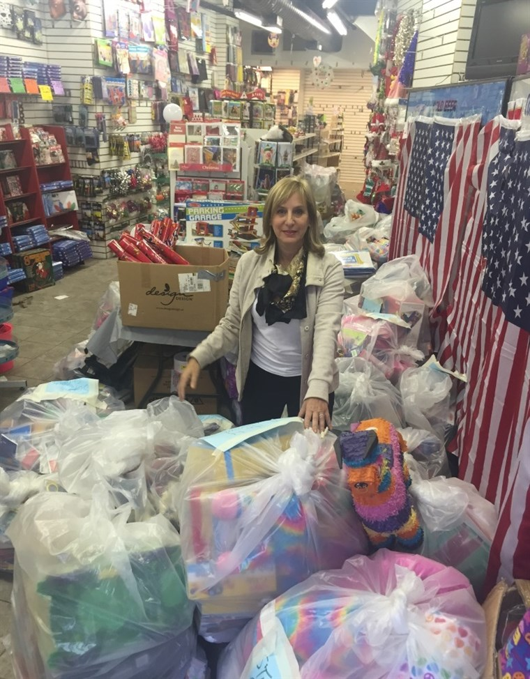 Carol Suchman bought out a toy store's entire supply and donated it to children in need.