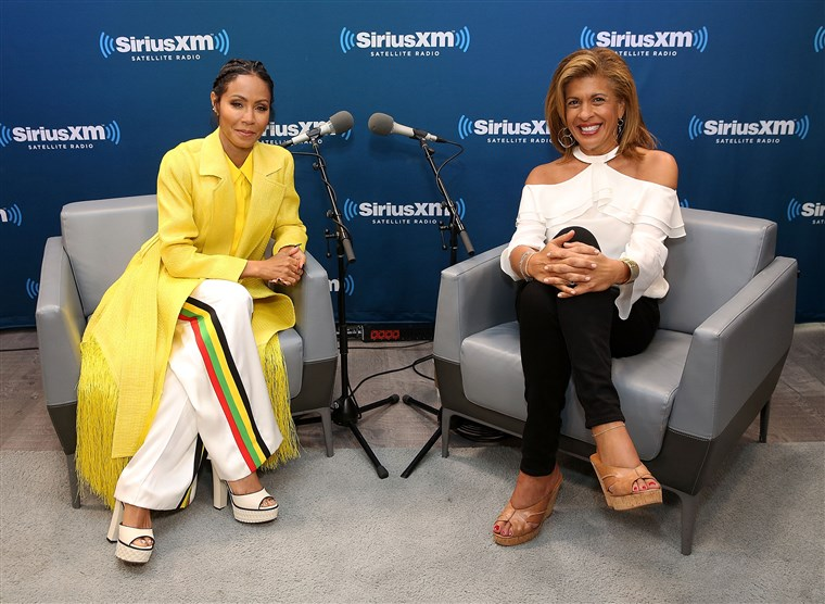 Hoda Kotb Hosts A Leading Ladies Event With Jada Pinkett Smith For SiriusXM Today Show Radio