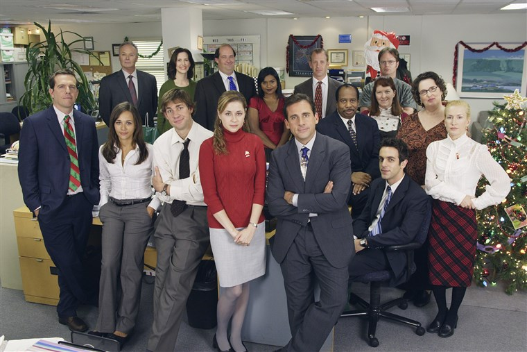 Office cast photo