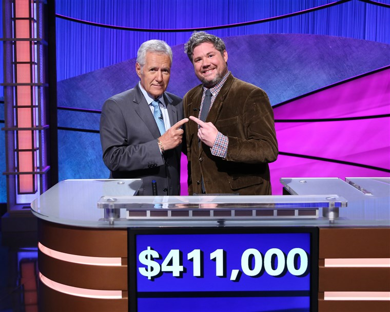 'JEOPARDY!' CONTESTANT AUSTIN ROGERS' 12-GAME WINNING STREAK COMES TO AN END