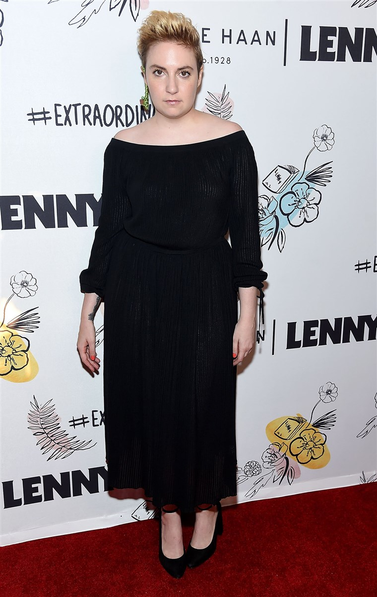 Лена Dunham at Lenny 2nd Anniversary Party