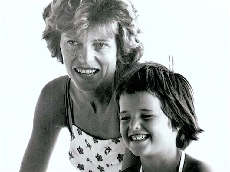 Marija Shriver and her mother, Eunice Kennedy Shriver, who taught her she could do anything she set her mind to.