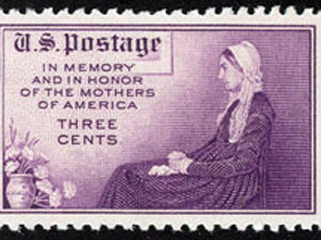 Minnes Mother's Day stamp