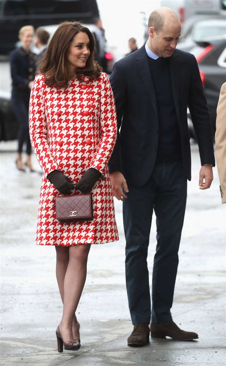 Vaizdas: The Duke And Duchess Of Cambridge Visit Sweden And Norway - Day 2