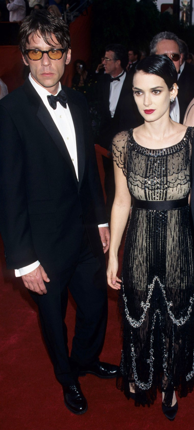 Winona Ryder and Kevin Healy