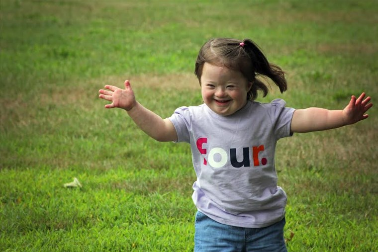 Fotografas Laura Kilgus captured children with Down syndrome in a photo series