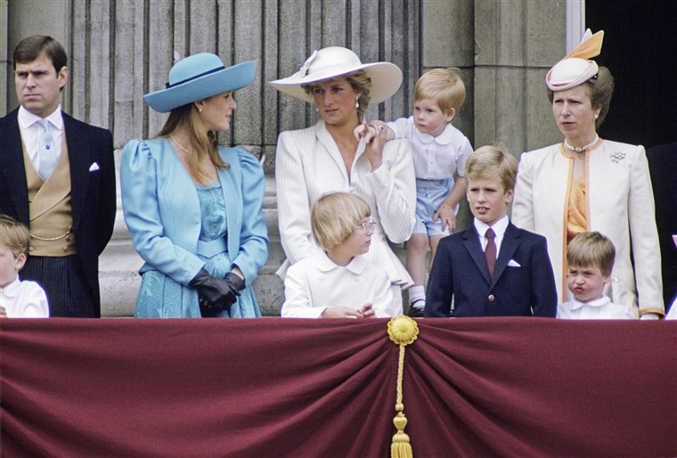 Regal Family At Trooping The Color