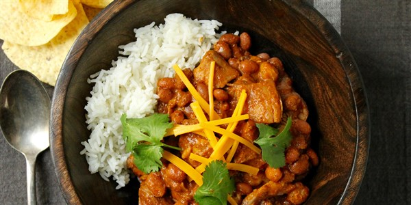 Care gateste incet Chicken Chili