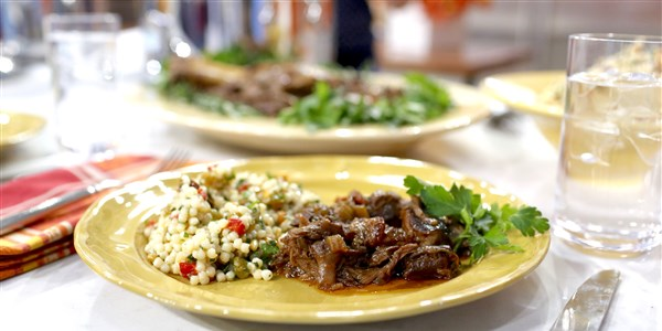 Al Roker's Slow-Cooker Lamb Shank and Couscous