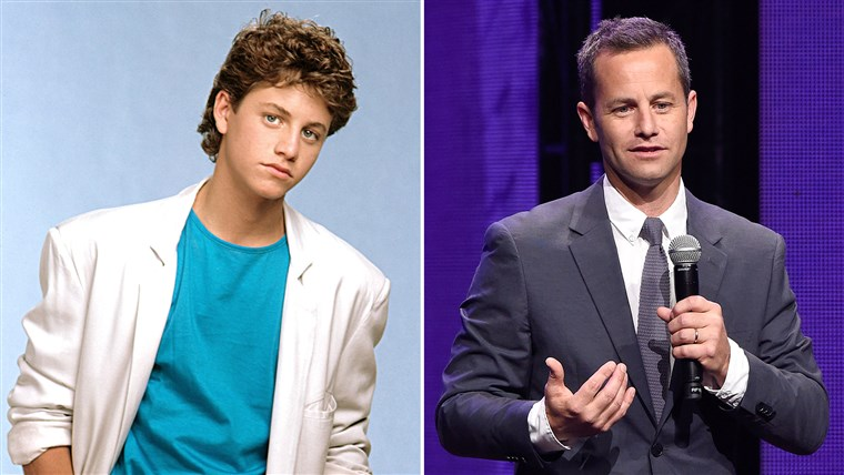Kirk Cameron then and now