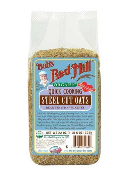 Bobas's Red Mill Instant Steel Cut Oatmeal
