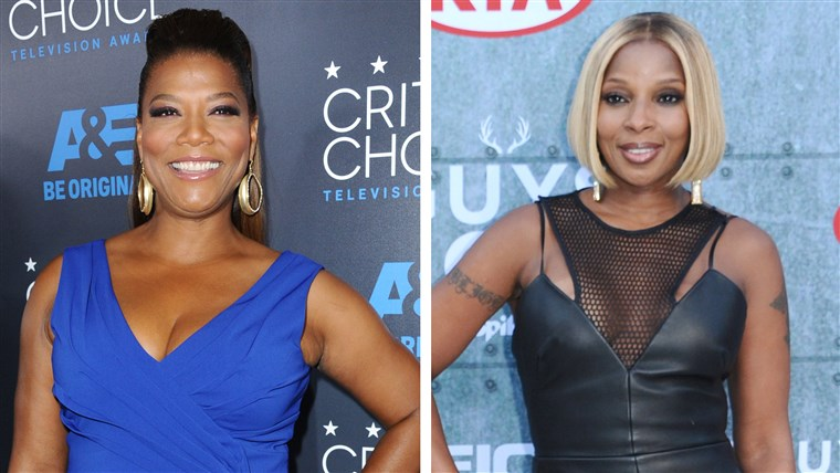 Drottning Latifah and Mary J. Blige