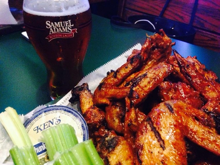 Sport Grill Miami Chicken Wings