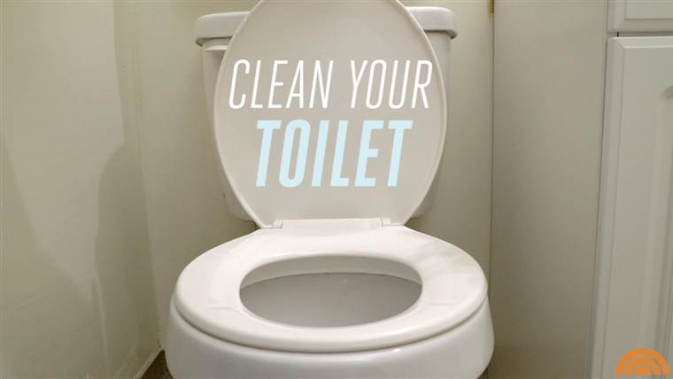 rengöring av toalett med ättika