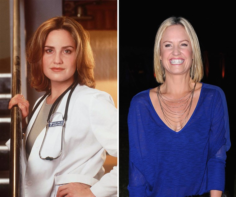 Sherry Stringfield went off the grid on