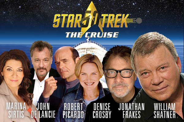 Stea Trek: The Cruise will set sail with William Shatner and other actors from the franchise in 2017